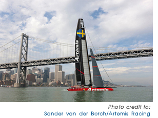 Artemis Racing America's Cup - click to visit their web site!