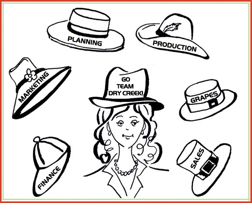 I wear a lot of hats!